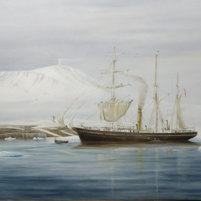 Serenity - Shackleton's arrival
